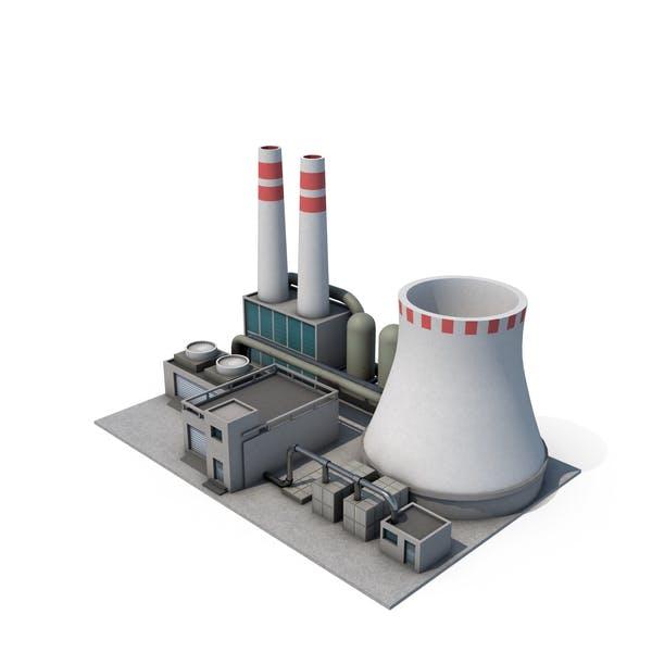 Мультяшная электростанция