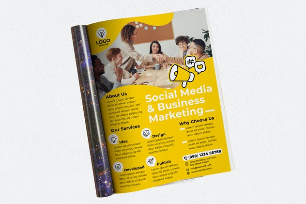 Social Media & Business Marketing Agency Magazine