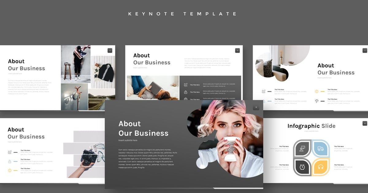 Download Necazo - Keynote Template by aqrstudio