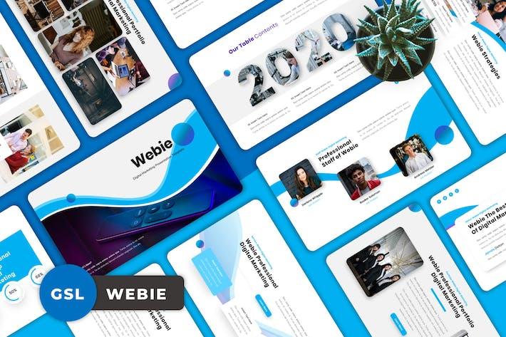 Webie - Digital Marketing Googleslide Templates
