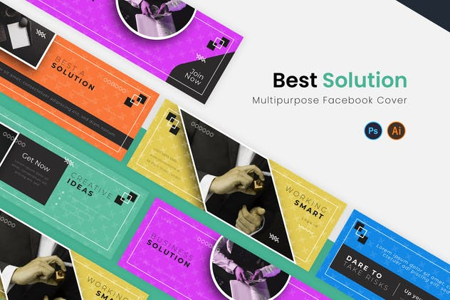 Best Solution Facebook Cover