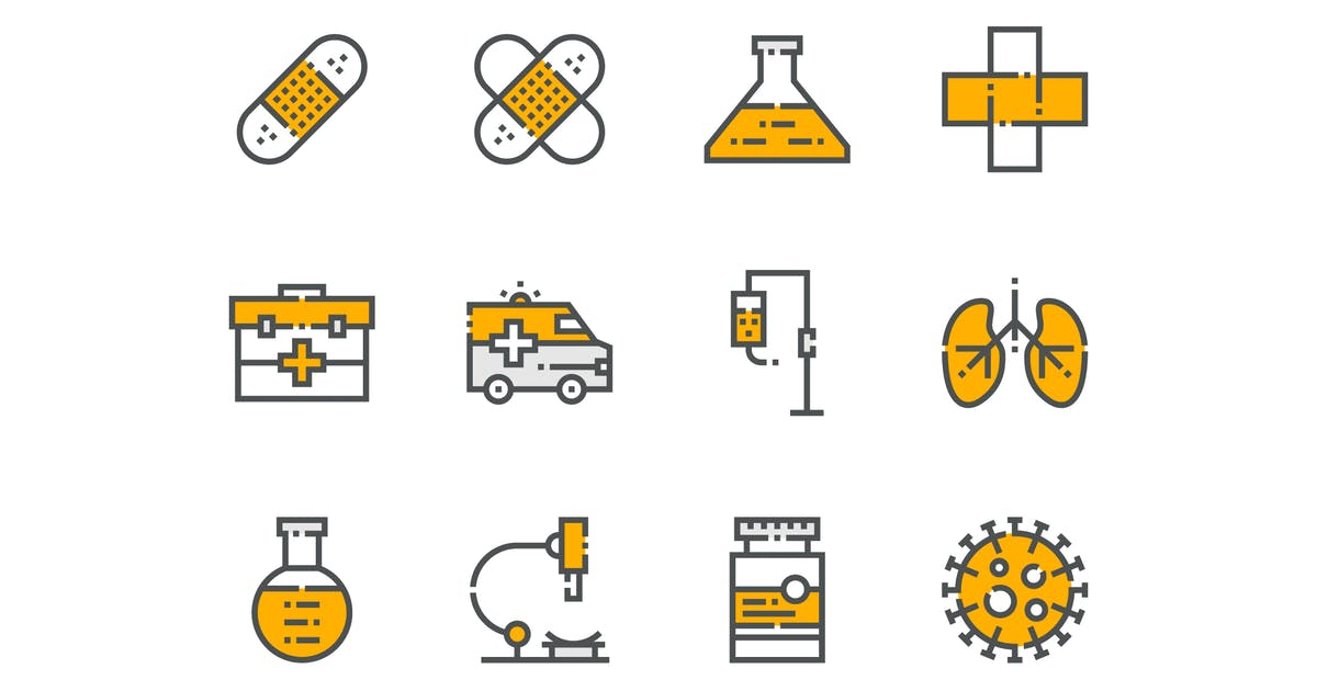 Download 21 Health and Medical Icons by 3ab2ou