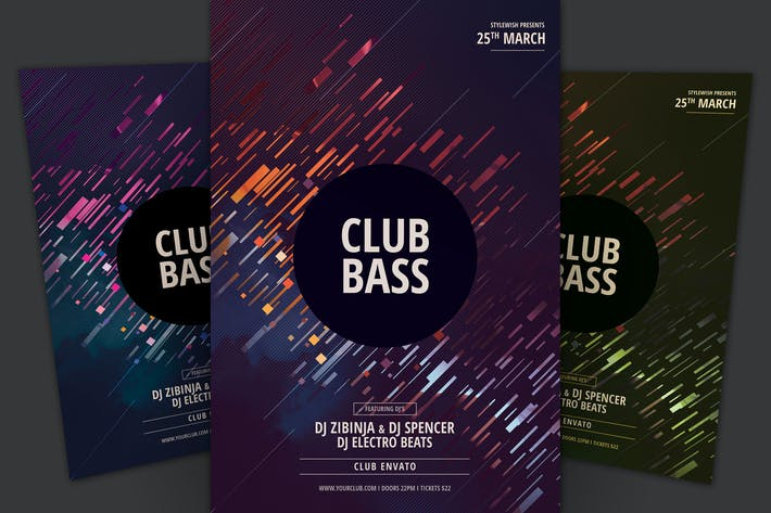 Thumbnail for Club Bass Flyer