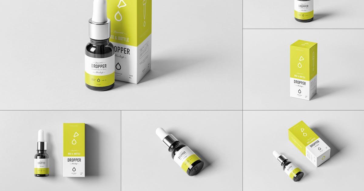 Download Dropper Bottle Mock-Up by yogurt86