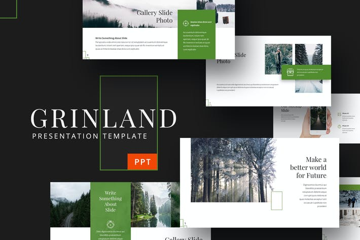 Thumbnail for Grinland - Forest Powerpoint Template