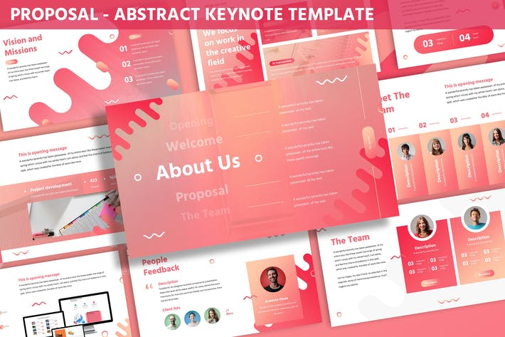 Thumbnail for Proposal - Abstract Keynote Template
