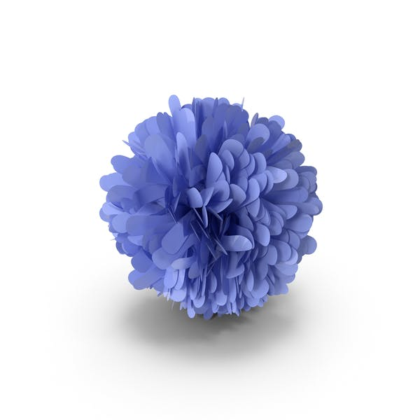 Thumbnail for Blue Pom Pom