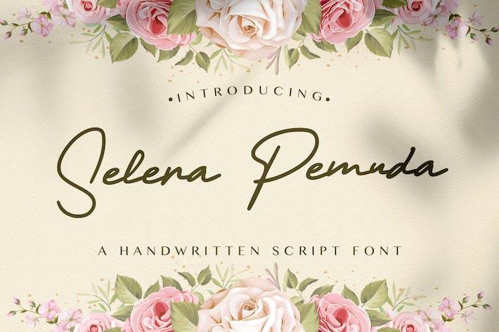 Selera Pemuda - Police manuscrite