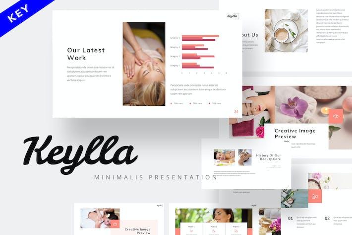Keylla - Минималистский Шаблон Keynote
