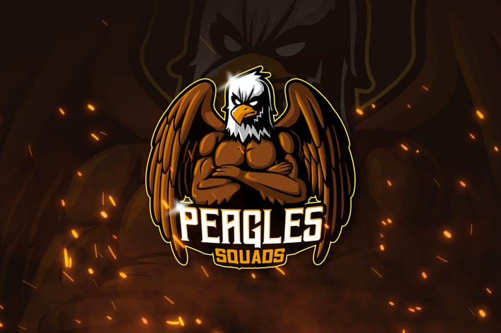 Thumbnail for PEAGLES - Mascot & Esports Logo