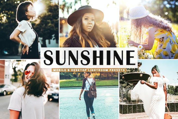 Thumbnail for Sunshine Mobile & Desktop Lightroom Presets