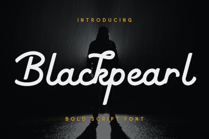 Blackpearl - Monoline Script Police