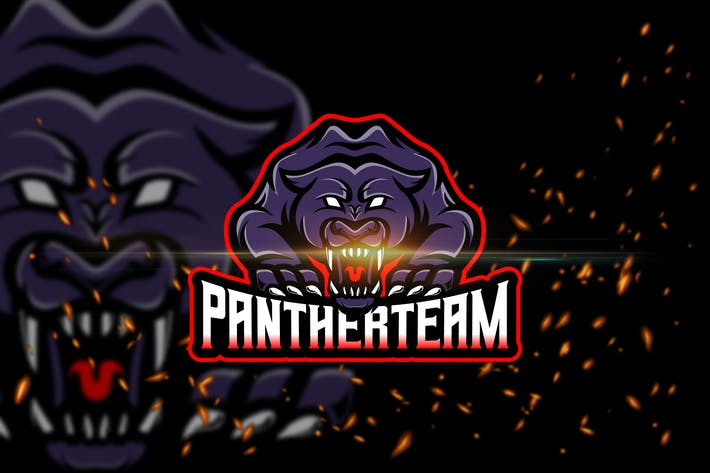 Thumbnail for Panther Team - Esport & Mascot Logo Template