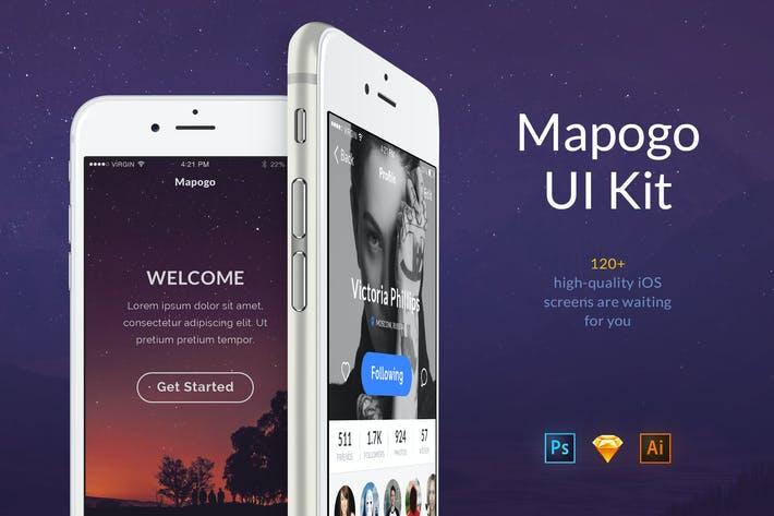 Cover Image For Mapogo UI Kit