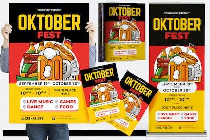 Oktoberfest #01 Print Templates Pack