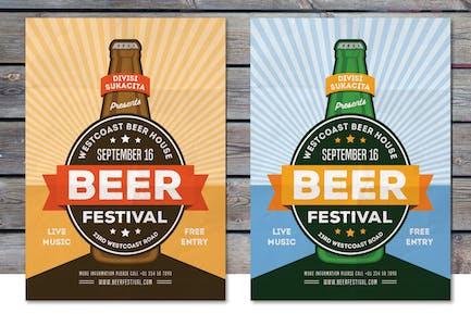 Flyer Festival de la bière
