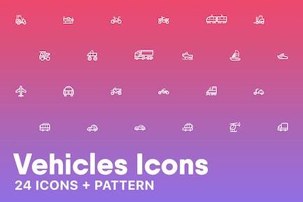 FahrzeugIcons + Muster