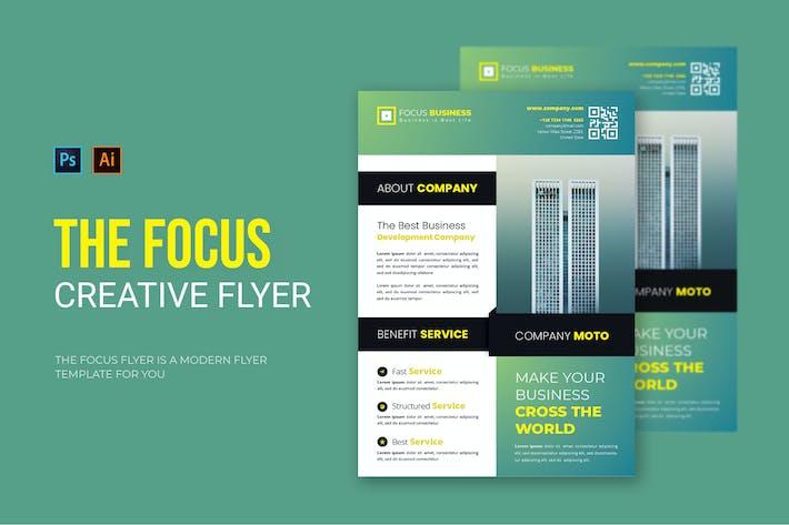 Focus Business - Flyer