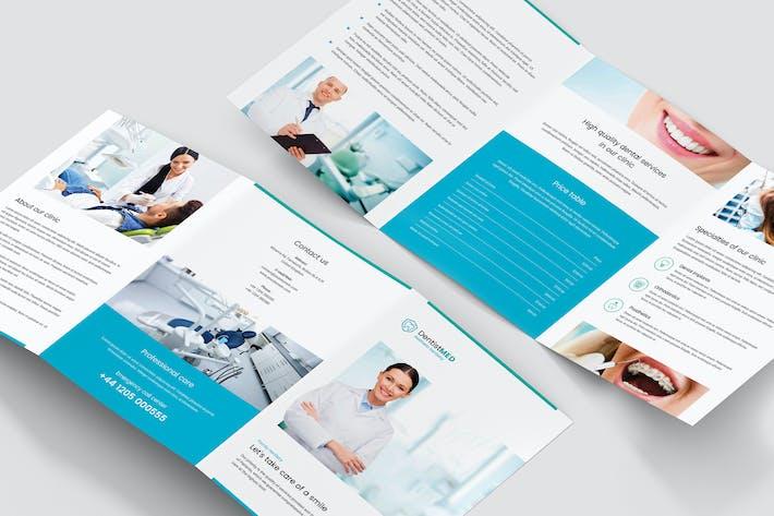 Thumbnail for Brochure – Dentist Tri-Fold A5