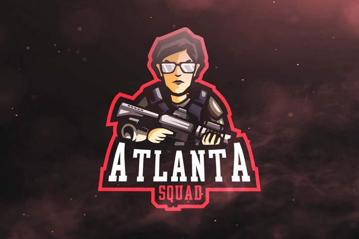 Thumbnail for Atlanta Squad Sport and Esports Logos