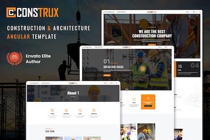 Construx - Construction & Building Angular Templat
