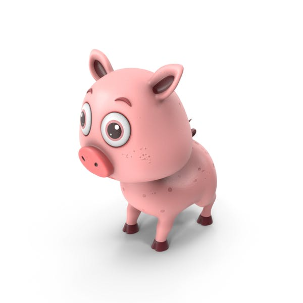 Cartoon Schwein