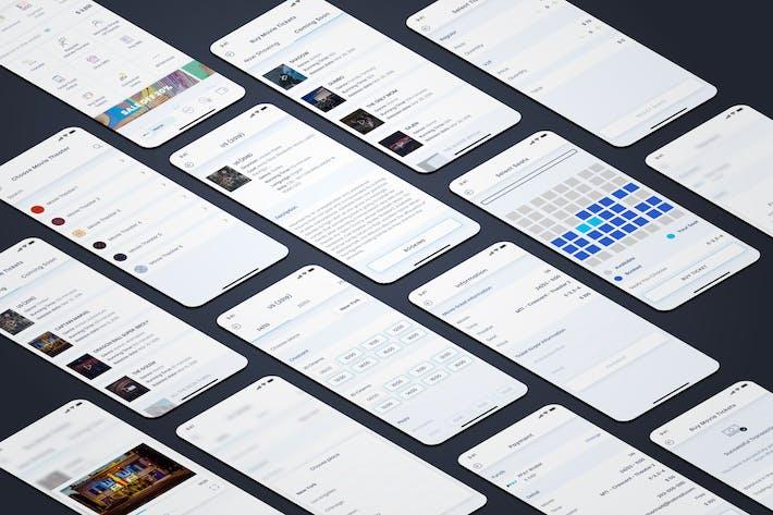 Thumbnail for Купить билеты на кино - Wallet Mobile UI - FP