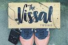 The Vissal script brush logo font