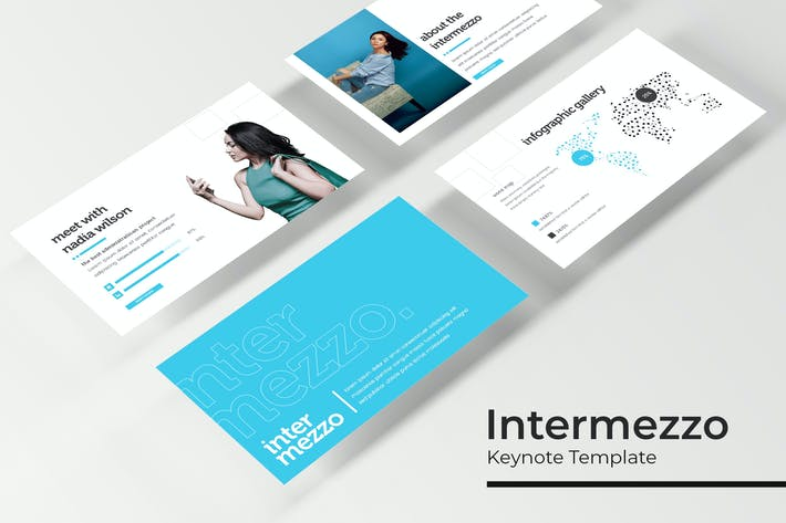 Thumbnail for Intermezzo - Keynote Template