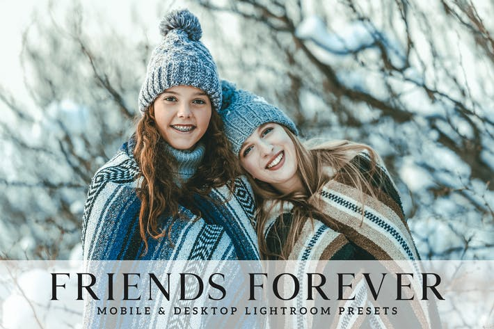 Thumbnail for Friends Forever Mobile & Desktop Lightroom Presets