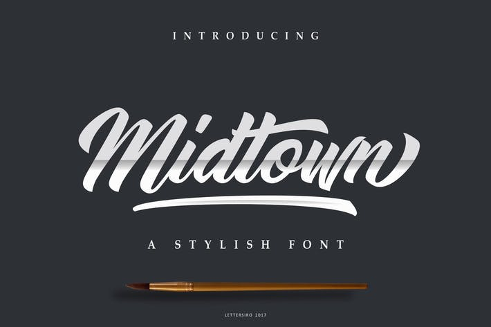 Thumbnail for Midtown Stylish Script