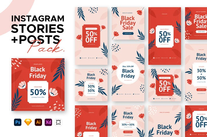 Thumbnail for Sale Instagram Stories + Posts