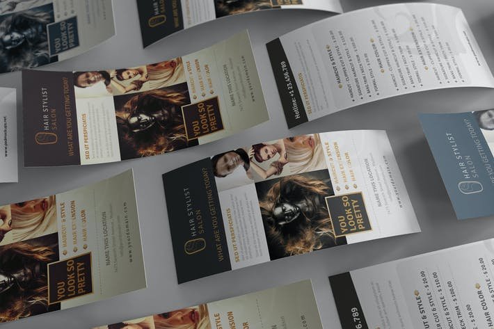 Thumbnail for Rack Card and Voucher Mockups