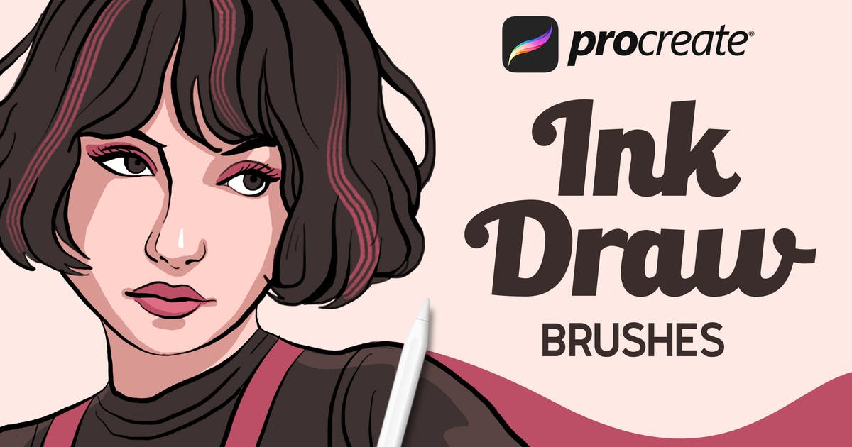 Download InkDraw - Procrate Brushes by Streakside