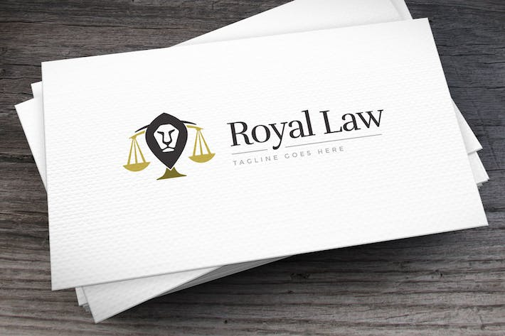 Thumbnail for Royal Law Logo Template
