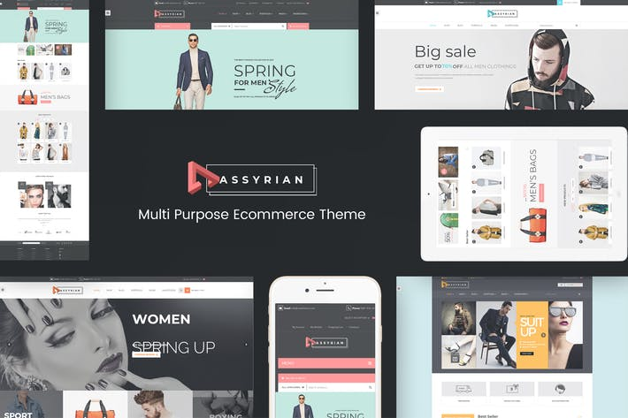 Thumbnail for Assyrian - Responsive Fashion WordPress Theme