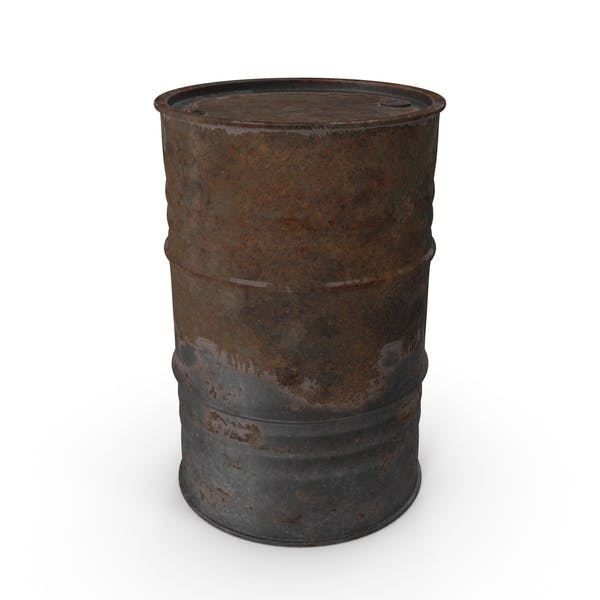 Thumbnail for Rusted Oil Barrel