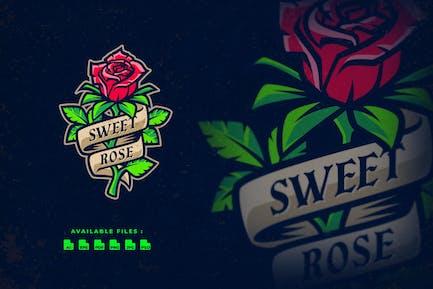 Sweet Rose Tattoo Logo