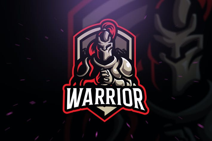Thumbnail for Warrior sport and Esport Logo Template