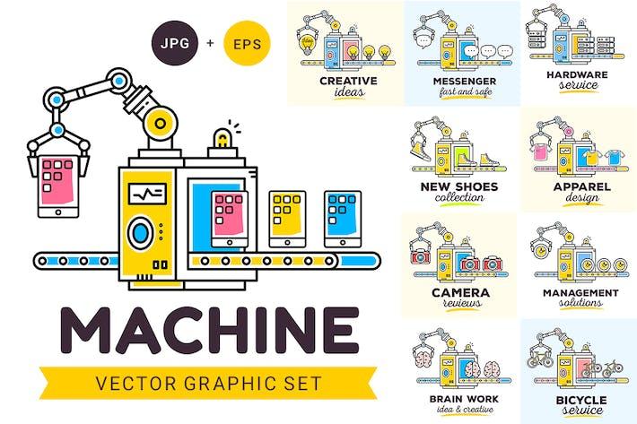 Thumbnail for Maschine mit Objekten