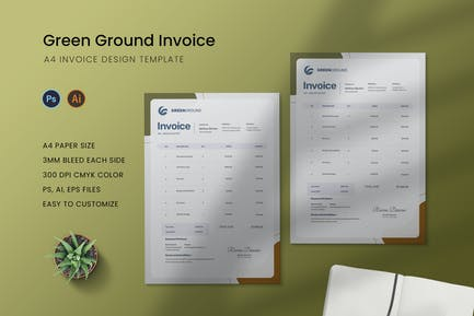 Green Ground Invoice