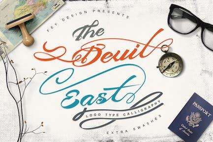 Devil East - Script Font