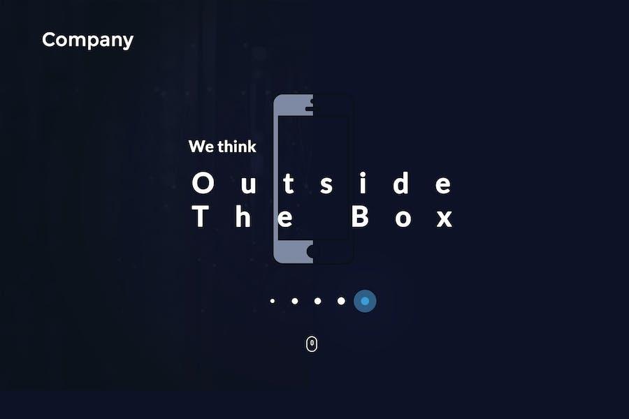 Technology Company Website Template