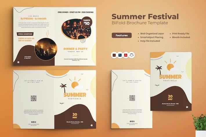 Thumbnail for Bifold-Broschüre zum Sommerfestival