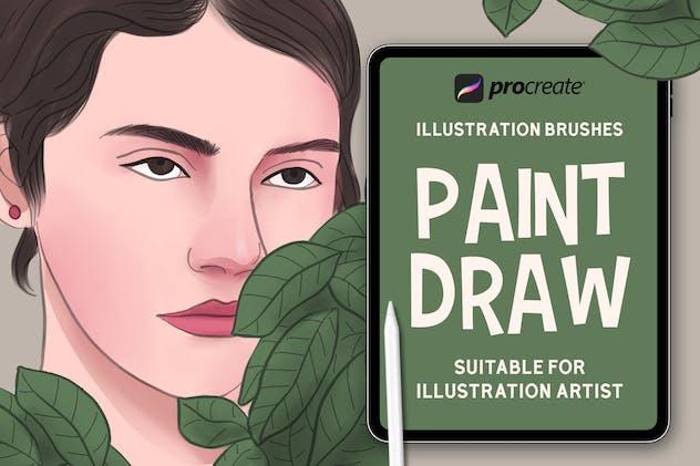 Paint Draw - Procreat Brushes