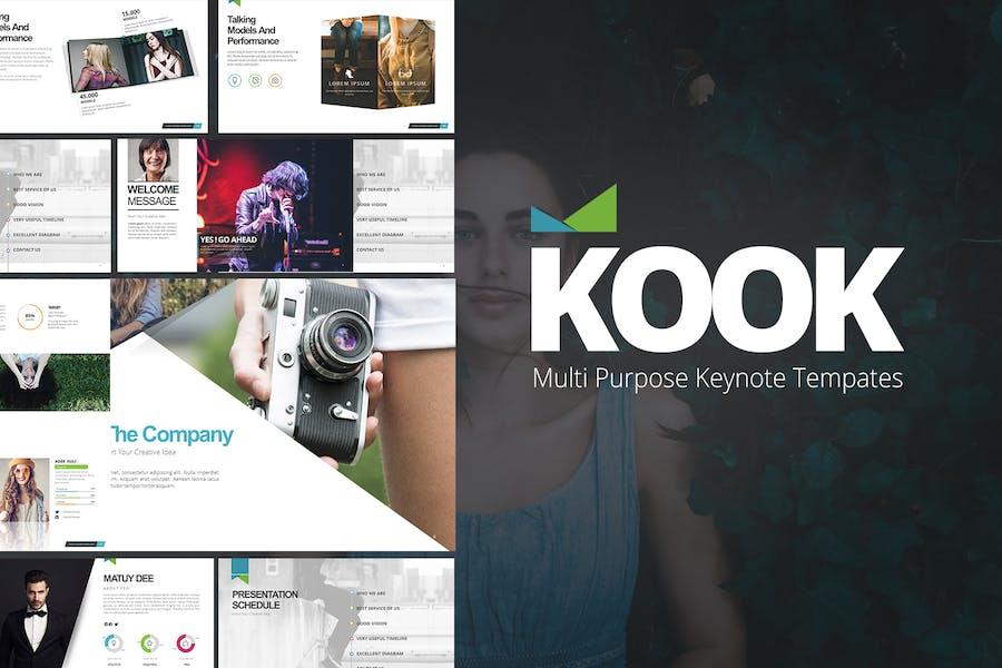 Шаблоны Keynote KooK