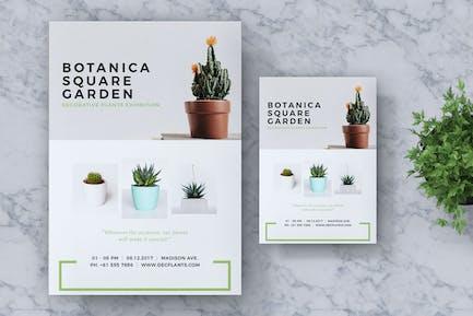 Botanica Event Flyer & Poster Vol. 02
