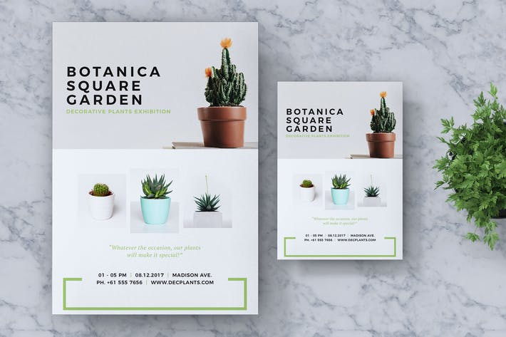 Thumbnail for Botanica Event Flyer & Poster Vol. 02