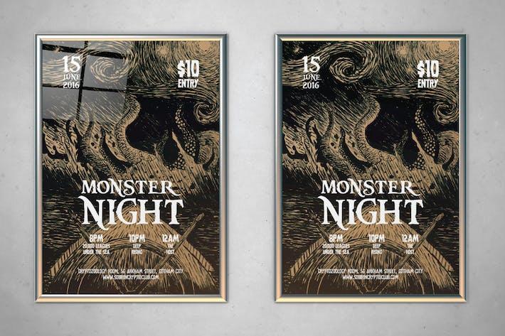 Thumbnail for Monster Night Flyer