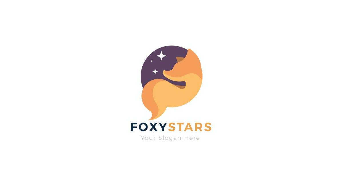 Download Fox Stars Creative Animal Logo Template by NEWFLIX